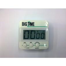"""""""BIG TIME"""" TIMER DIGITALE DA CUCINA CON LCD ALTO CONTRASTO MAGNETICO   6cm x 6cm"""