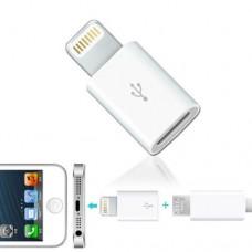 Adattatore DA CONNETTORE MICRO USB A IPHONE COMPATIBILE