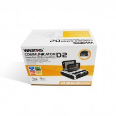 Docking Station Dual HDD w/Sim/Flash Card Reader/USB Hub e-SATA + Wireless card