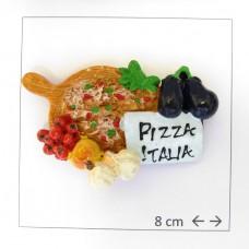 Souvenir  From Italy Calamita Frigo Fridge Magnets  PIZZA ITALIA A PALA