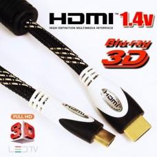 Cavo HDMI 3D Ethernet VERSIONE 1.4 19+1 PIN da 10mt  SPEDIZIONE CORRIERE ESPRESSOso