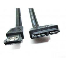 CAVO ADATTATORE DA ESATA + USB(POWER eSATA) A 7+6 (SLIM SATA) PIN PER LETTORE OTTICO 5V da 50cm