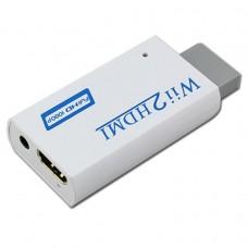 CONVERTITORE Adattatore HDMI PER NINTENDO Wii 1080p Full HD AUDIO 3.5mm