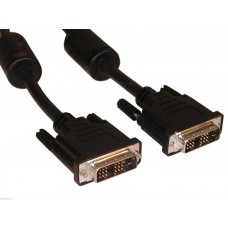 Cavo DVI-D SINGLE LINK 1 5M M/M  DVI-D SINGLE LINK CABLE 1 5 Mt M/M