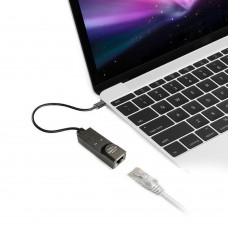 Adattatore Scheda di Rete USB 3.1 Tipo C A RJ45 Gigabit Ethernet LAN Adattatore Per Mac tablet etc.