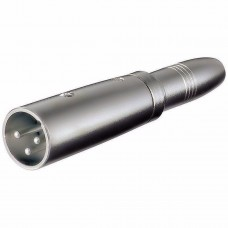 Adattatore XLR Cannon Maschio ad Audio 6,35mm Femmina Mono
