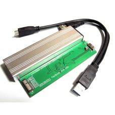 BOX CASE USB 3.0 PER SSD MBA MAC 2010-20122 6+12