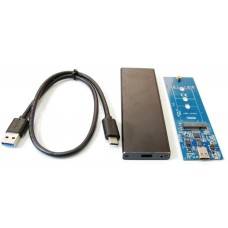 BOX CASE USB 3.1 PER SSD HDD M.2 NGFF 2260 2242 2230 10Gbps