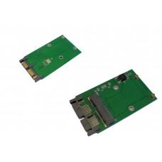 Adattatore Convetitore da Mini PCIe PCI-e MSATA SSD a 1.8'' Micro SATA  PCBA FS