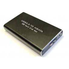 mSATA to USB 3.0 SSD Enclosure Adapter Case Support UASP Super Speed 6Gb/s 520MB