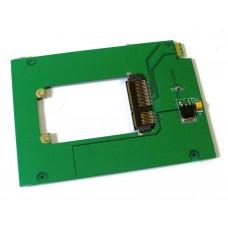 Adattatore DA mSATA SSD A WD Blue UltraSlim SATA3 HDD WD5000MPCK SFF-8784