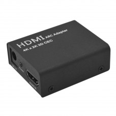 Adattatore convetitore audio HDMI ARC a HDMI + Optical/Toslink 4K 1080P CEC