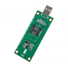 Adattatore Tester USB per Mini PCI-E Wireless WWAN  Adapter Card con SIM Card Slot Module