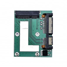 """Adattatore Convertitore Mini pci-e MSATA SSD a 2.5 """"SATA 6.0 GbPS"""