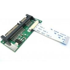 Adattatore da MacBook Air SSD HDD 24 PIN SATA LIF A 7+15 22pin a SATA CON Cavo