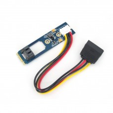 Adattatore SATA 7 pin SSD/HDD a M.2 NGFF con Cavo