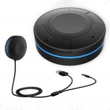 Wireless Audio Bluetooth Car Kit Vivavoce Bluetooth 4.1 + EDR ricevitore musicale con microfono. Ingresso 3.5 mm AUX