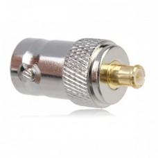 Adattatore Convertitore MCX maschio a BNC femmina per antenna Plug coassiale DVB-T DVBT DAB etc.