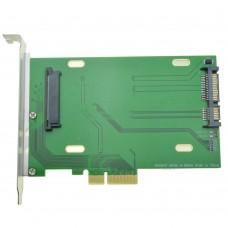 Adattatore da PCI-E  a SFF-8639 NVME U.2  Per SSD 750 P3600 P3700 DB