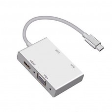 Convertitor TYPE-C a VGA HDMI E DVI 4 IN 1