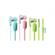 KANEN iP-206 Auricolari in Ear con Microfono Colori assortiti e vivaci