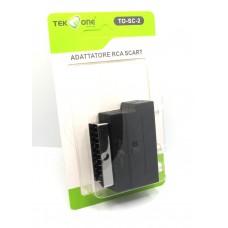 TAKEONE - ADATTATORE BIDIREZIONALE SCART RCA S-VIDEO TO-SC-2