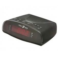 Radio Sveglia Digitale FM Display a LED PLL Rosso Allarme FM AM Snooze