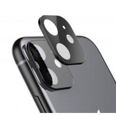 Vetro temperato Fotocamera iPhone 11 6.1,Nero o Argento Pellicola Protettore Anti-graffio/Anti-Olio/Anti-Polvere