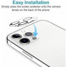 Vetro temperato Fotocamera iPhone 12 PRO 6.1 Trasparente Pellicola Protettore Anti-graffio/Anti-Olio/Anti-Polvere