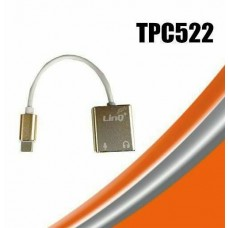 Mini Adattatore Scheda Audio USB Dual Channel virtual 7.1 Type-C Tipo C