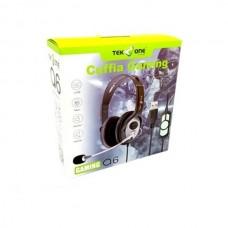 CUFFIA STEREO USB SUPER BASS PER GIOCHI FILM PC  MICROFONO VOLUME CONTROL