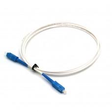 Cavo Fibra Ottica SC/UPC 1,5Mt 9/125μm  G652D PVC Bianco Blu