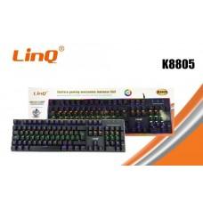 Tastiera Meccanica Gaming Da Gioco Retroilluminata RGB Luce Usb Pc Computer
