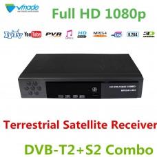 RICEVITORE DIGITALE TERRESTRE DVB-T2/S2 1080p  H264 YOUTUBE INTERNET