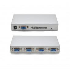 Video Splitter 4 vie VGA 150 MHz  1 INPUT 4 OUTPUT