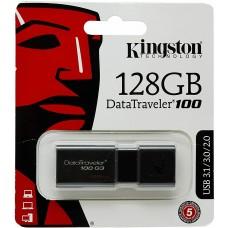 Kingston DataTraveler 100 G3-DT100G3/128GB USB 3.0, PenDrive, 128 GB, 128 GB