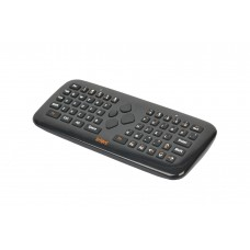 Black Lefant Wireless 3D Gyroscope Air Fly Mouse Keyboard for Game of Mini PC TV FM2