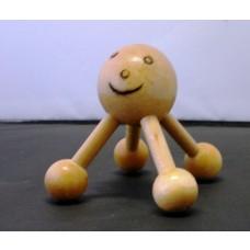 Simpatico Massaggiatore Relax  Cervicale  Spalle  Schiena in Legno.Spd. Cor.Espr