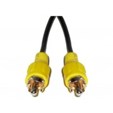 Cavo VIDEO RCA GIALLO M/M BASIC LIGHT 1MT