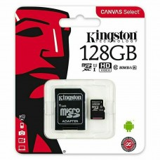 KINGSTON MICRO SD SDCS/128GB Micro SDXC Canvas Select Class 10 UHS-I