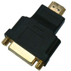 Adattatore DVI F / HDMI M  DVI FEMALE TO HDMI MALE ADAPTER 1080P
