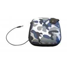 Porta  Lettore CD/MP3/Smartphone Musica con Speaker Integrato da Viaggio