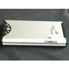 Box Multimediale Player 2.5 SATA con lettore SD