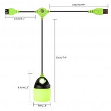 LED LUCE LANTERNA MULTI COMBINED USB LAMPADA CAMPEGGIO ESCURSIONE