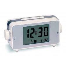 Sveglia Da Comodino a Grandi Numeri con Termometro e Calendario Retroilluminata