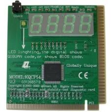 Tester Diagnostico PCI KQPI4 four motherboard diagnostic card test card test card desktop