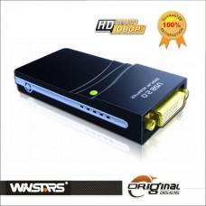 Adattatore USB2.0 Display Adapter DVI VGA HDMI (1920x1080) WS-UGA17D1